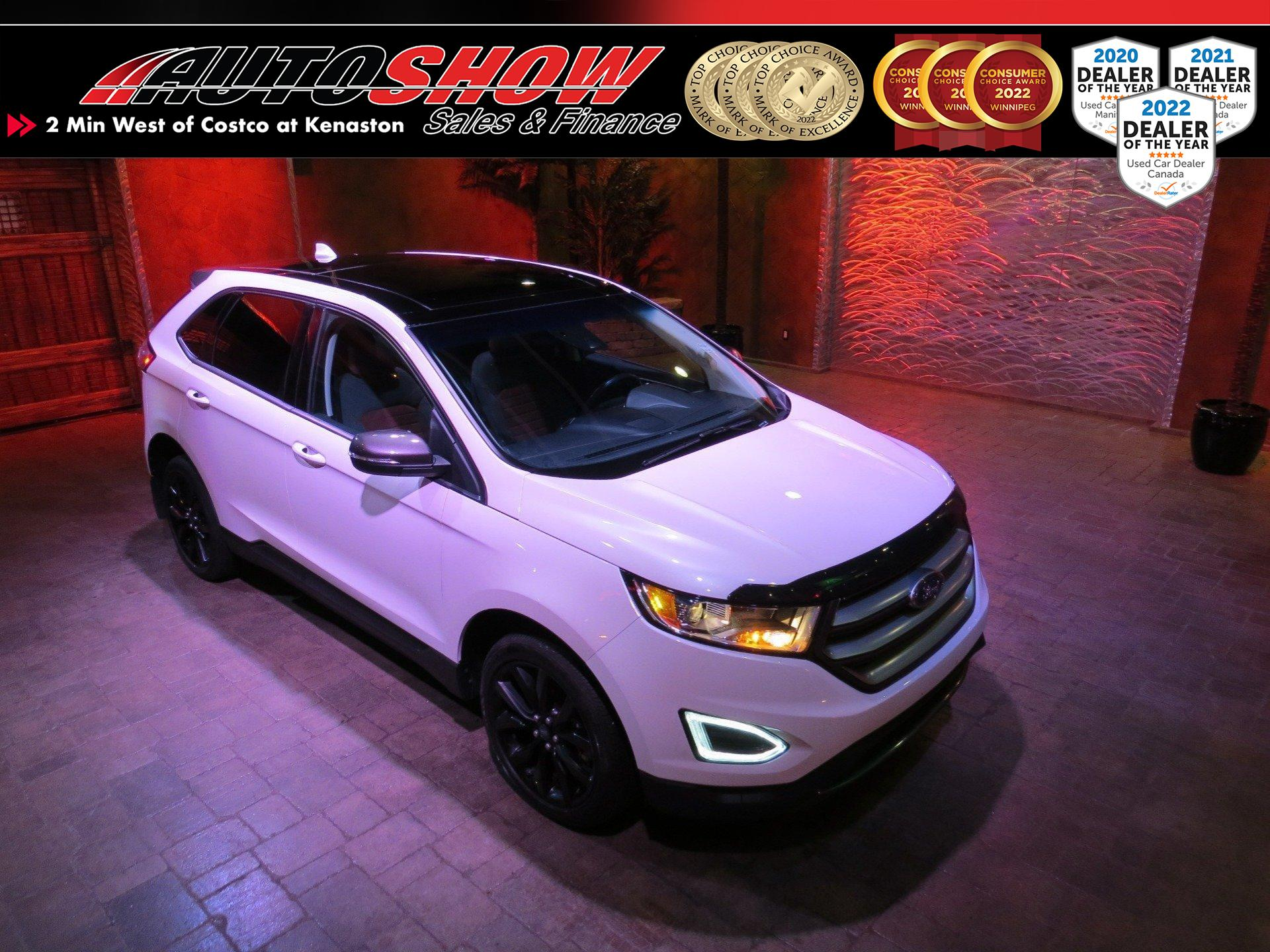 used 2018 Ford Edge car, priced at $33,800