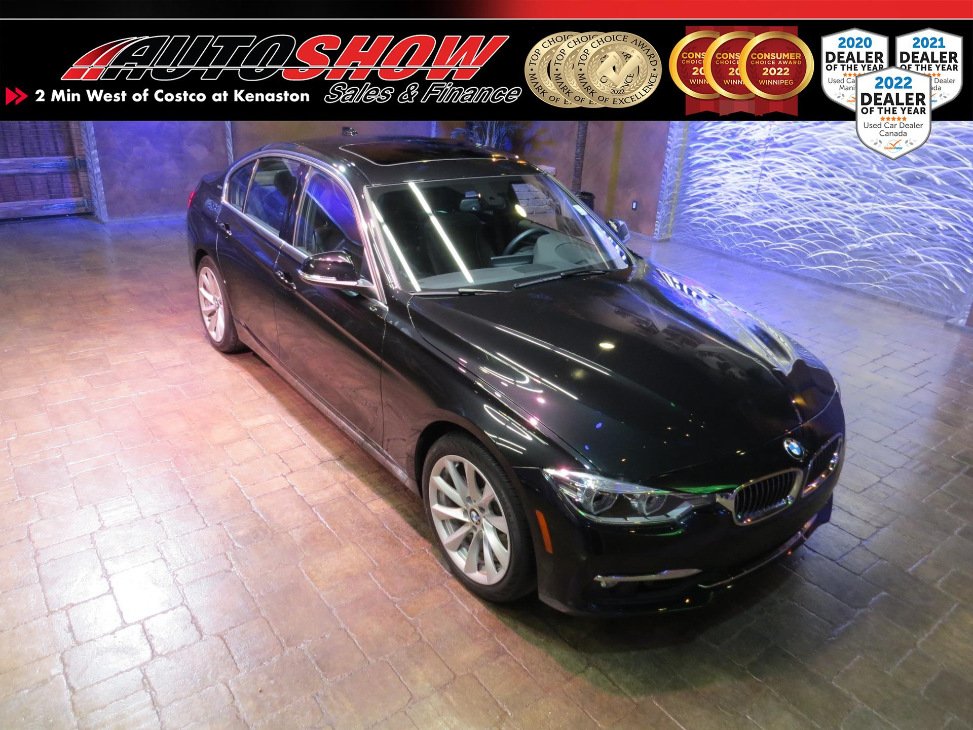 used 2016 BMW 3-Series car, priced at $29,800