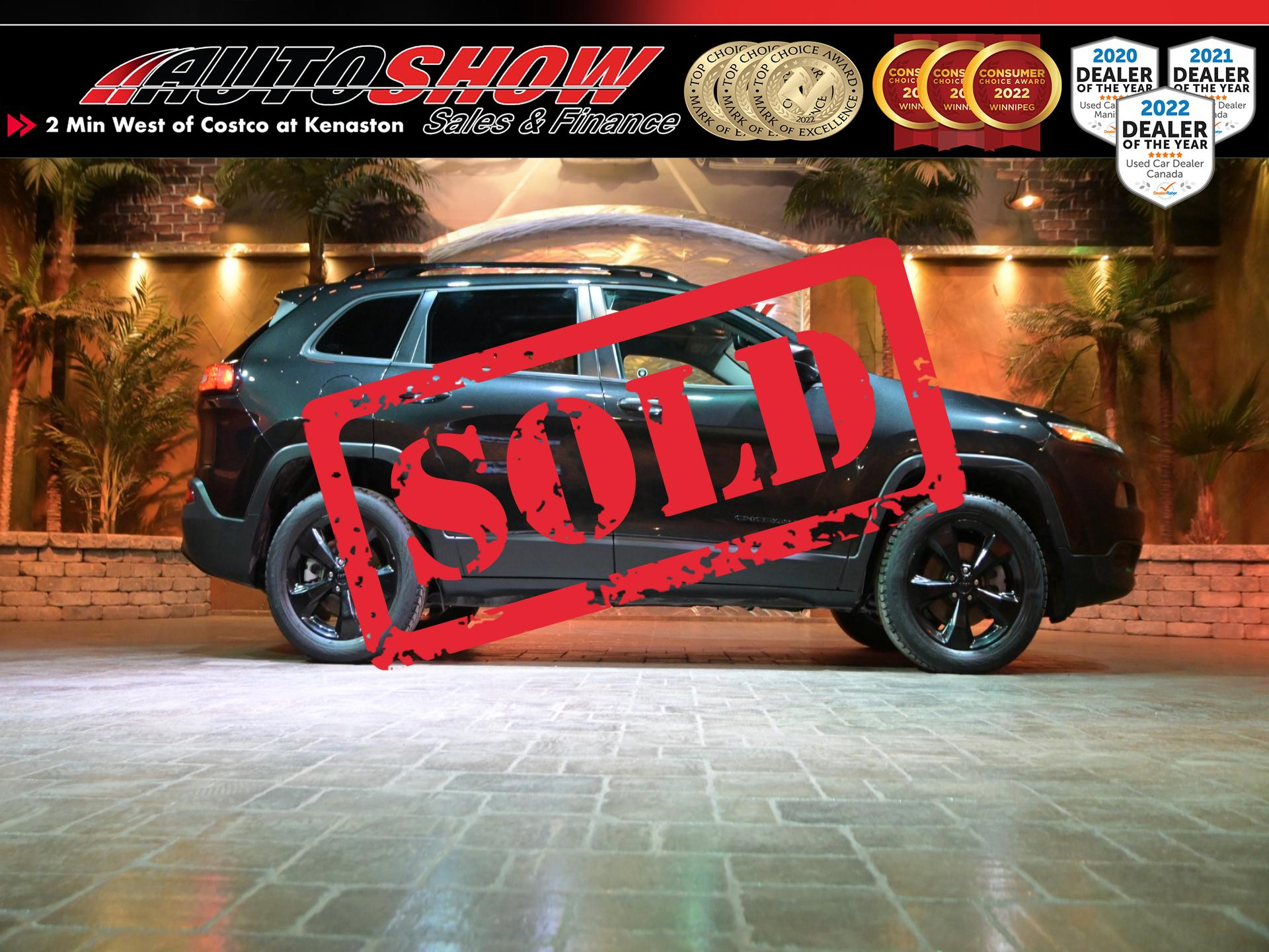 used 2016 Jeep Cherokee car, priced at $20,800