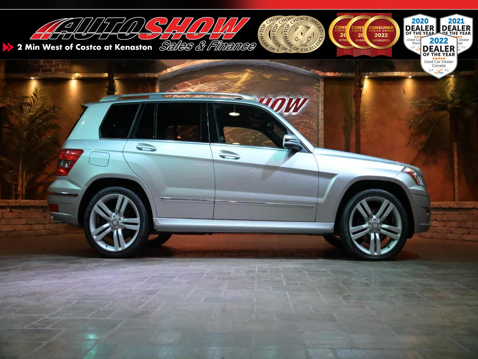 used 2011 Mercedes-Benz GLK-Class car, priced at $15,800