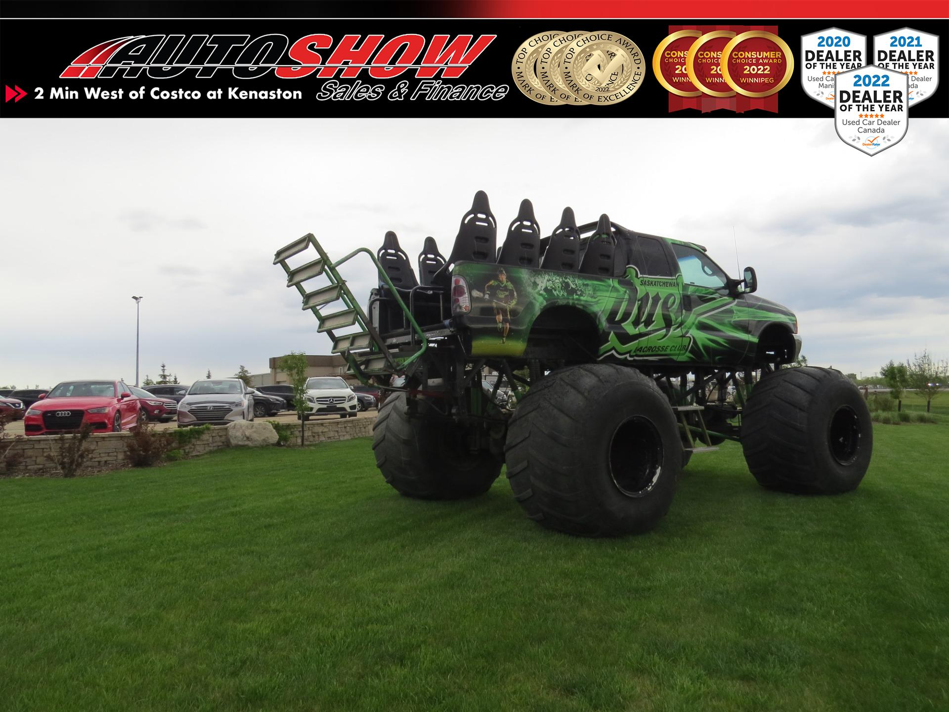 used 2000 Ford Monster Truck car