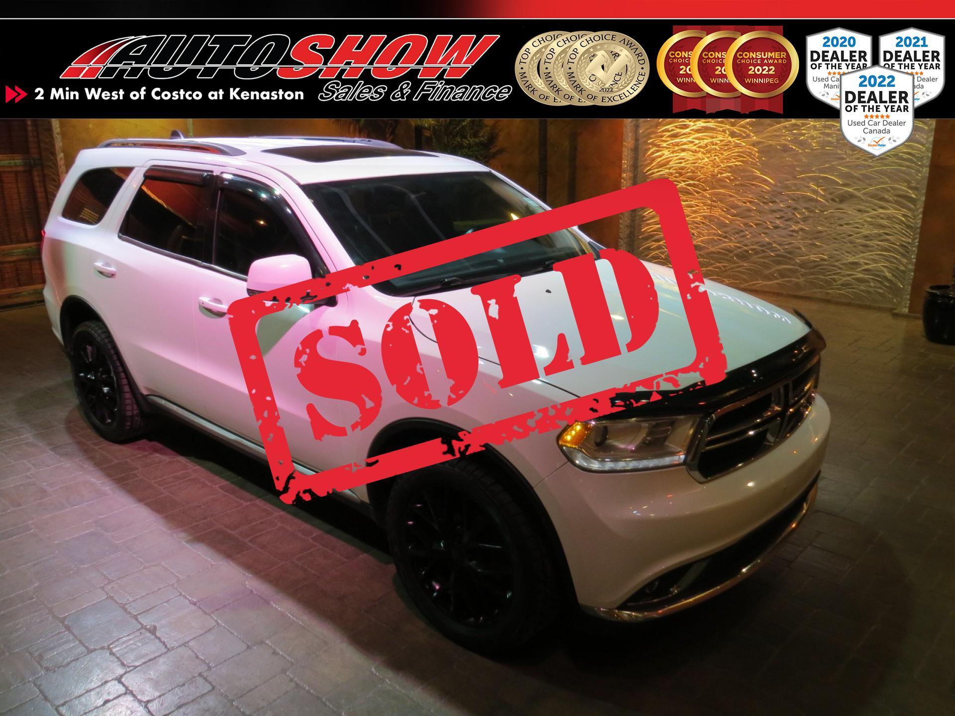 used 2016 Dodge Durango car, priced at $19,800