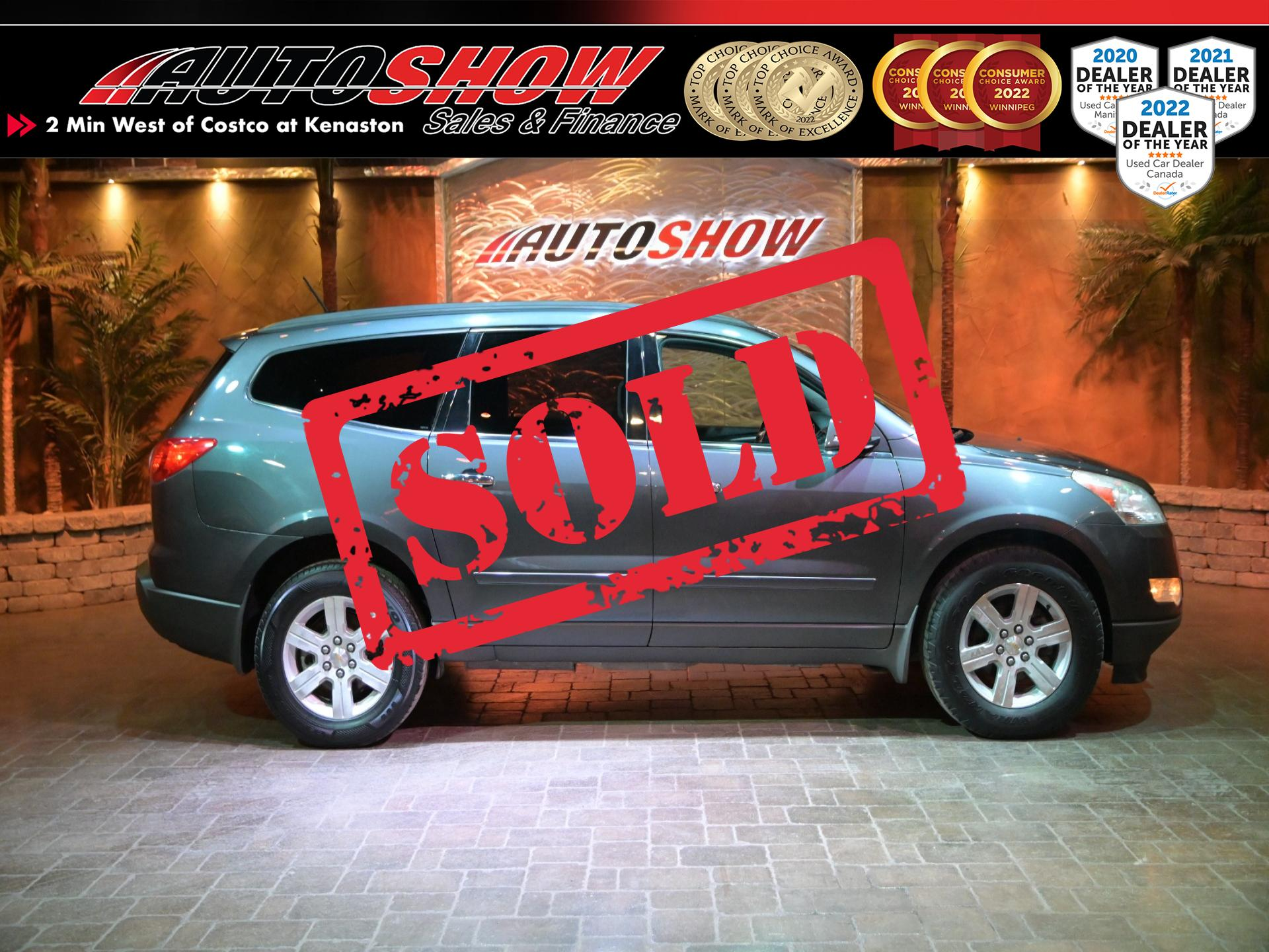 used 2011 Chevrolet Traverse car, priced at $6,995