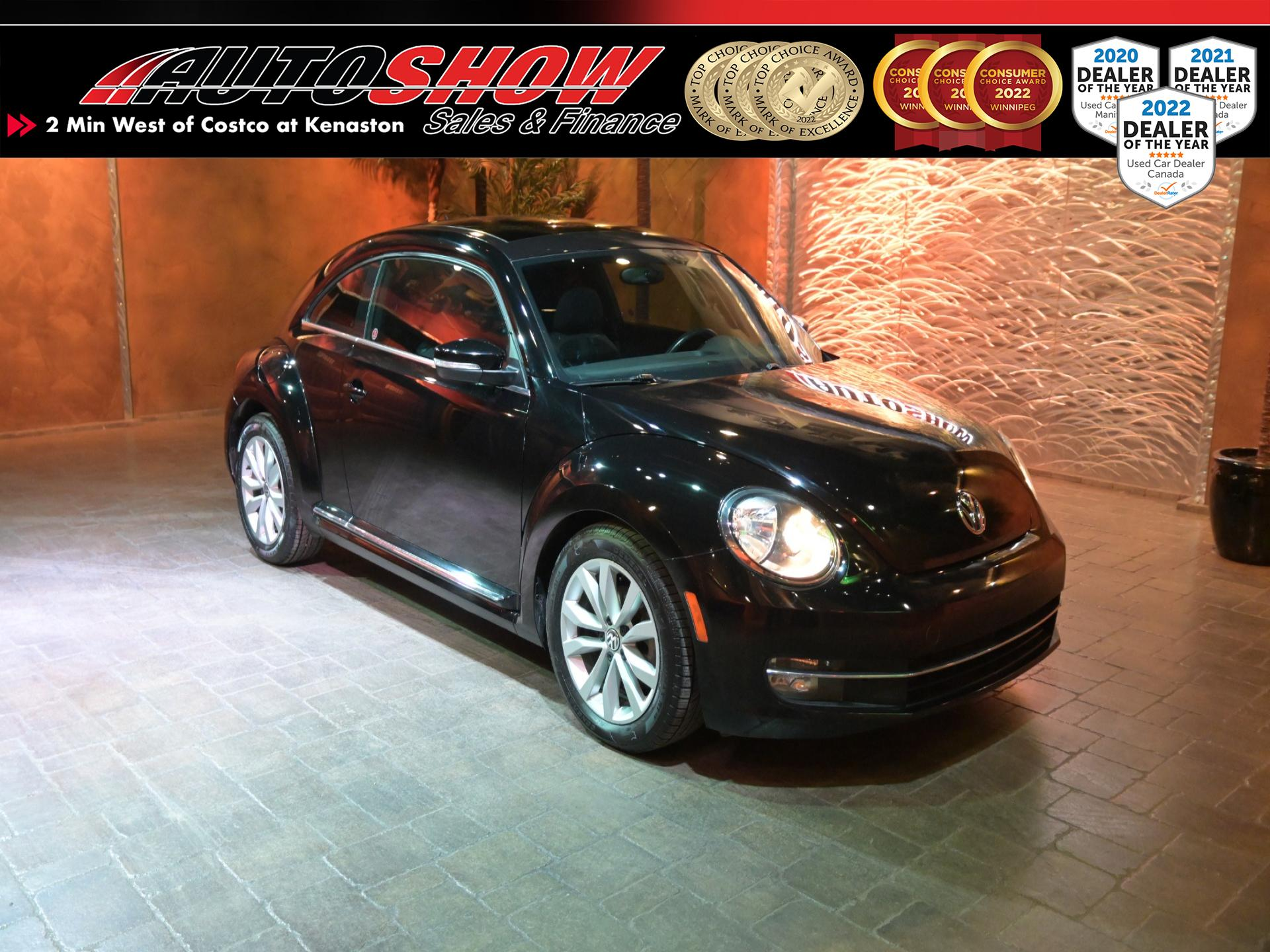 used 2013 Volkswagen Beetle Coupe car, priced at $15,600