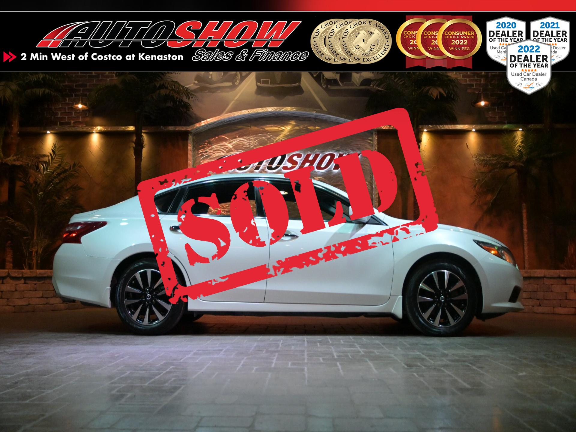 used 2018 Nissan Altima car, priced at $19,800