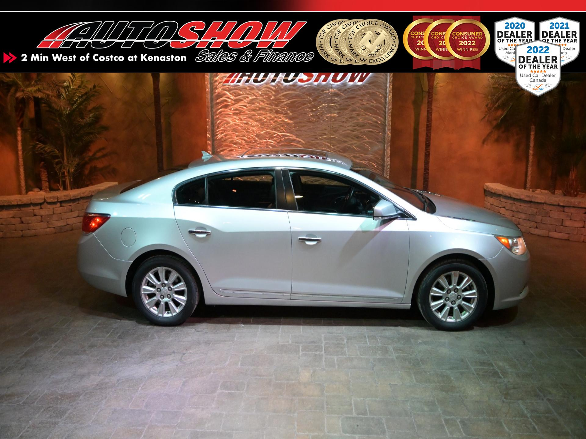used 2010 Buick LaCrosse car, priced at $10,800