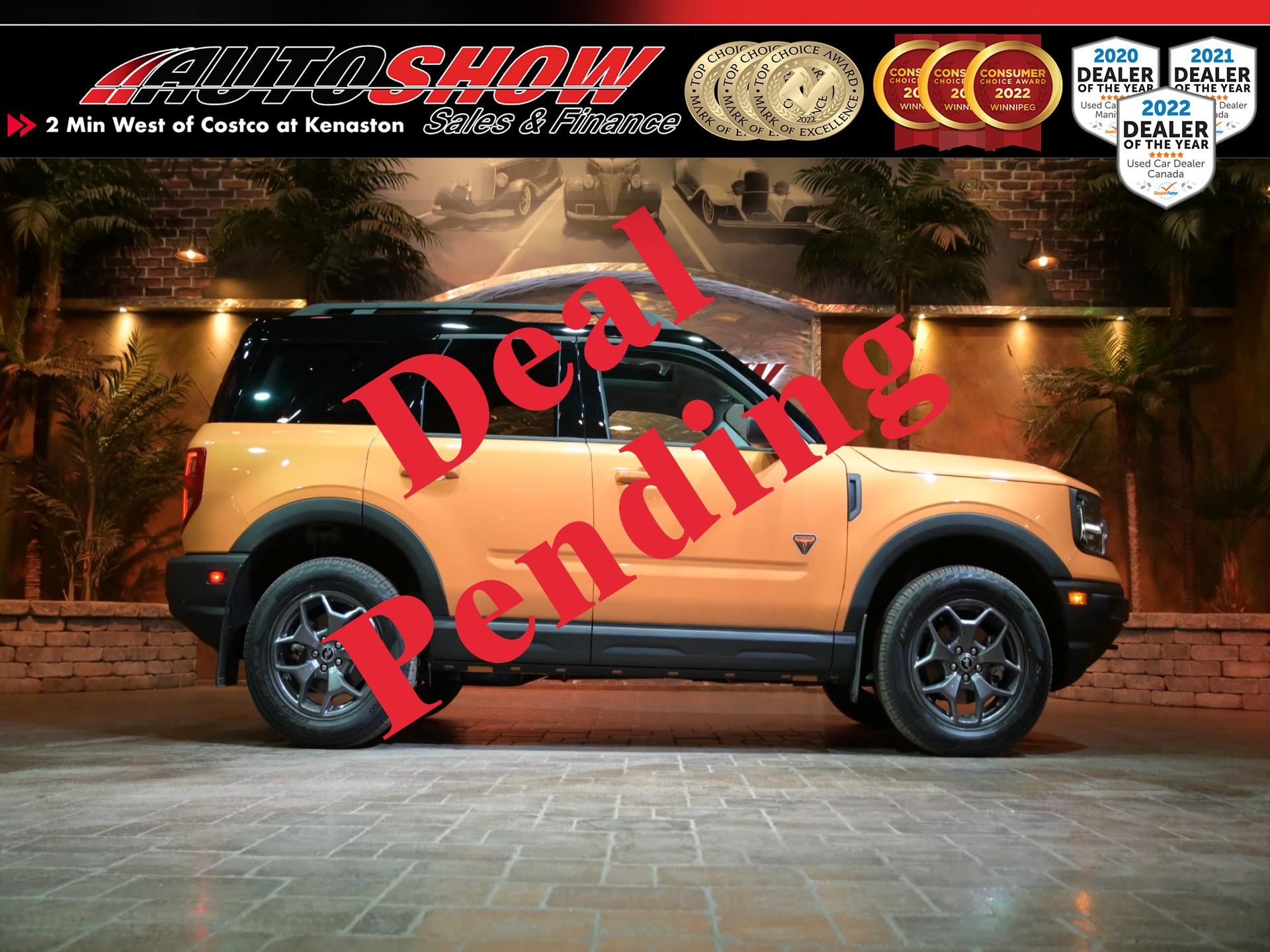 used 2021 Ford Bronco Sport car